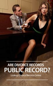Are Divorce Records Public Record?